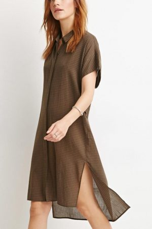 olive-slash-black-forever21-gingham-shirt-dress-screen (1)
