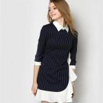 Váy - Đầm kẻ Zara